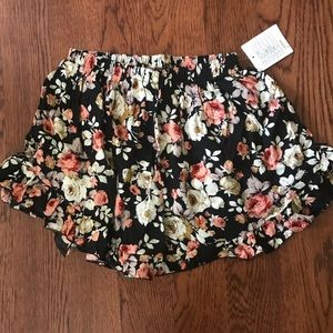 Urban Outfitters floral soft short